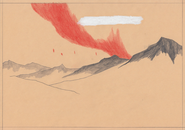 David Franklin artist Artwork Reclamation 10 Untitled Drawing