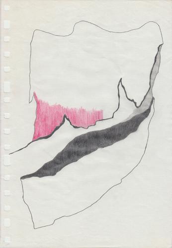 David Franklin artist Artwork Reclamation 13 Untitled Drawing