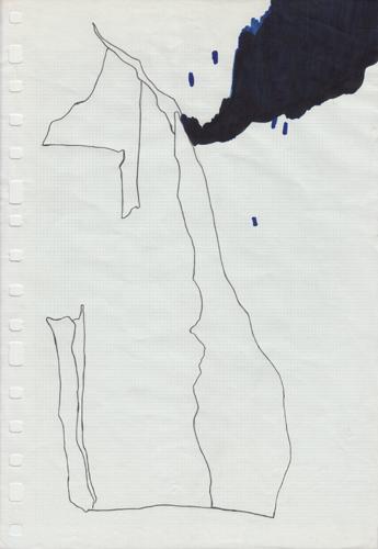 David Franklin artist Artwork Reclamation 14 Untitled Drawing