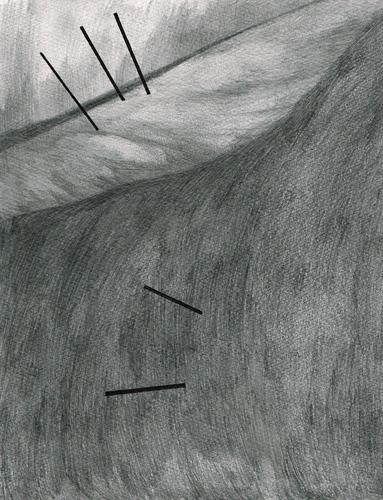 David Franklin artist Artwork drawing Unconscious Landscape 3