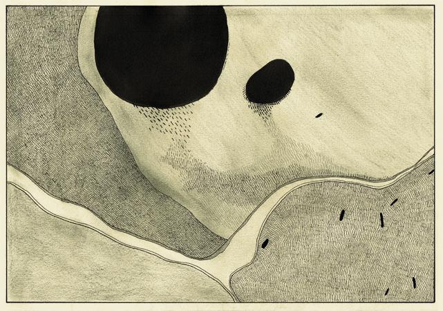 David Franklin artist Artwork drawing Untitled Drawing