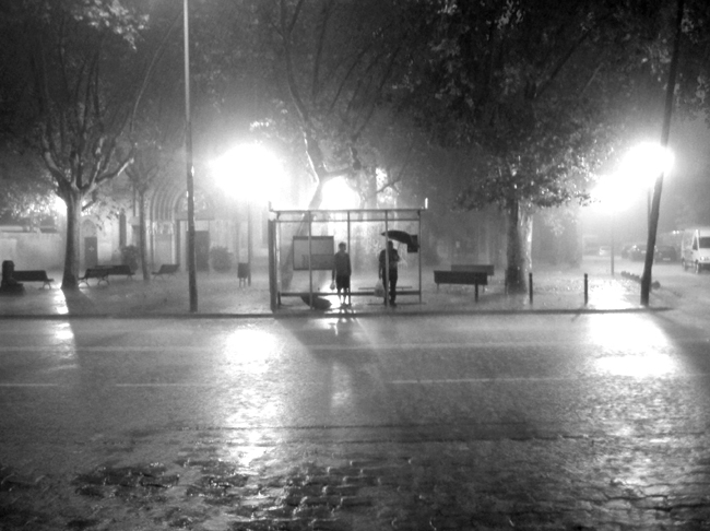 David Franklin Photo BCN Summer Rain 01