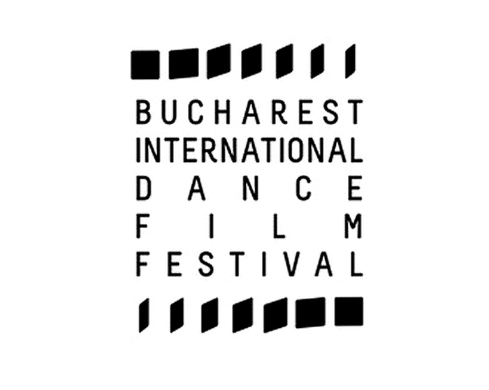 David Franklin artist Bucharst International Dance Film Festival logo