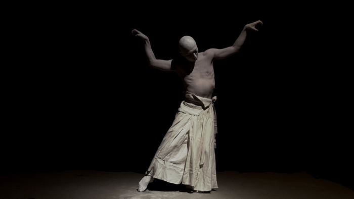 David Franklin artist Norihito Ishii butoh dancer Sankai Juku Out of Earth and Sky